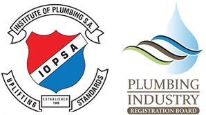 Registered at the Institute Of Plumbing S.A. and Plumping Industry Registration Board