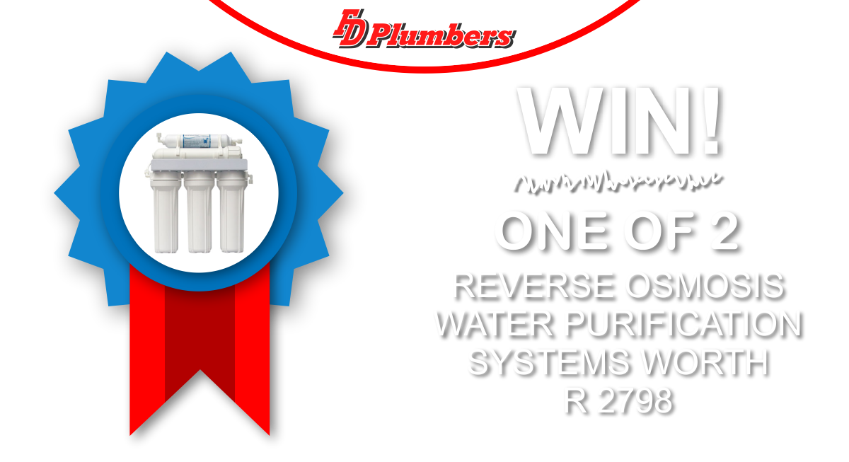 Win A Reverse Osmosis System Worth R 2798